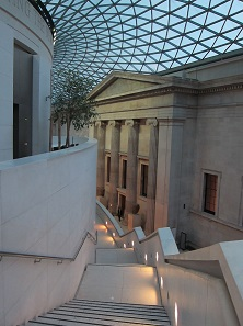 Im British Museum: Das Foyer. Foto: UK.