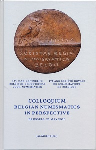 Jan Moens (Hrsg.), Proceedings of the Colloquium 'Belgian Numismatics in Perspective' (Brussels, 21 May 2016). 361 S. mit Abbildungen in Farbe und Schwarz/Weiß, Hardcover, 16,5 x 25,2 cm.