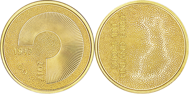 Independent Finland 100 Years coin.